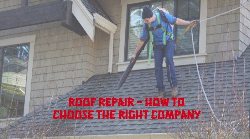 Roof repair - how to choose the right company